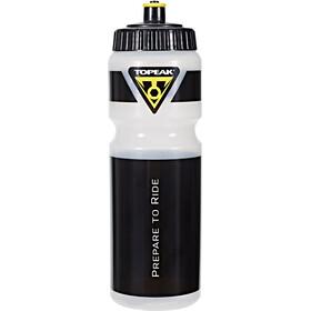 Topeak Topeak Bottle Vattenflaska 750ml svart/transparent